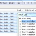 foobar2000のライブラリ機能を使う手順