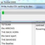 foobar2000でCDをCD-Rにコピーする手順