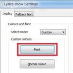 foobar2000で歌詞を表示する手順