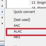 foobar2000で音楽ファイル形式を変換する方法