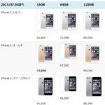 今、iPhone6が安い!Amazonの価格調査
